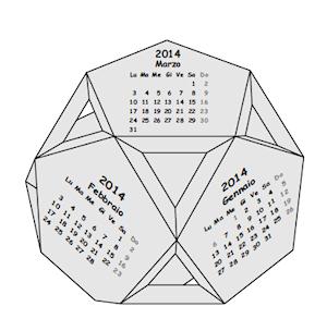 Calendario.Cdo Calendari Origami